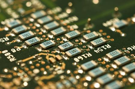 circuitos electronicos: Circuitos Electr?os Foto de archivo
