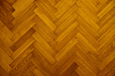 parquet wood floor Stock Photo