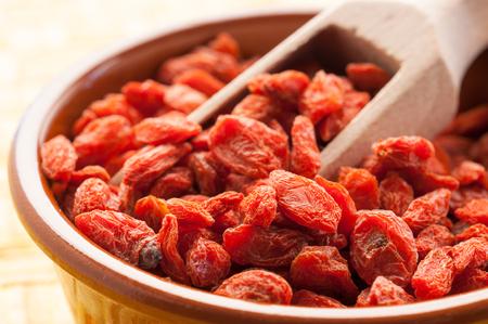 Goji berries Stock Photo