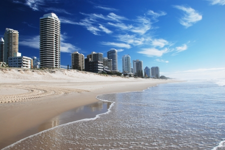 paradise: Goldcoast, Queensland, Australia