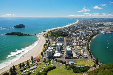 new scenery: Mount Maunganui, New Zealand