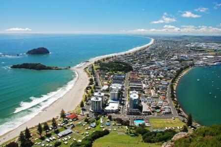 new zealand beach: Mount Maunganui, New Zealand