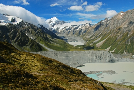 favourite: Mt Cook national park, New Zealand Stock Photo