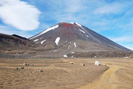 Mount Ngauruhoe, Tongariro NP photo