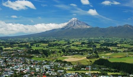 egmont: Mt. Taranaki, New Plymouth, new Zealand
