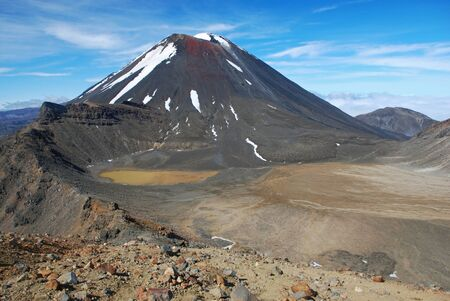 tongariro: Monte Ngauruhoe, Tongariro NP