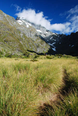 aspiring: Gillespie pass circuit, Mt Aspiring national park, New Zealand