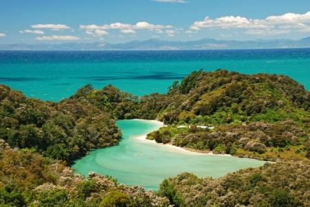 tasman: Abel Tasman national park, New Zealand