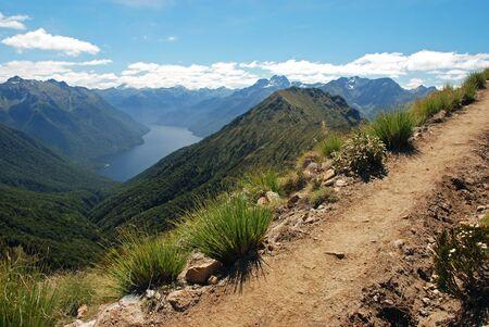 kepler: Panoramic view of Kepler track, New Zealand