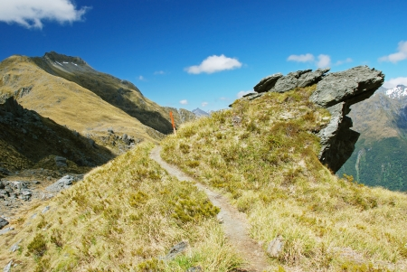 aspiring: Gillespie Pass, Mount Aspiring National Park, New Zealand