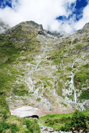 Milford track, New Zealand photo