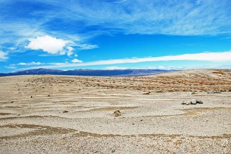 tongariro national park: Desert landscape in Tongariro national park, New Zealand