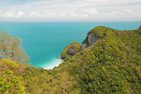 Tropical island in Ang Thong National Park, Thailand Stock Photo - 13684764