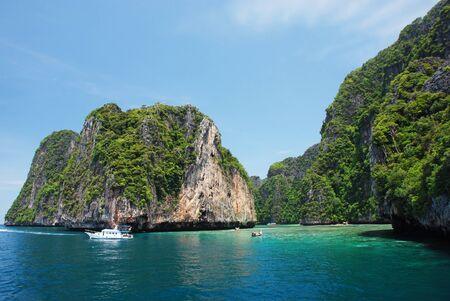 Snorkeling on the Koh Phi Phi island, Thailand