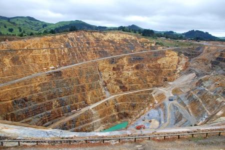 contaminacion ambiental: Mina de oro