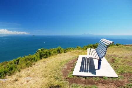 settee: Amazing lookout Stock Photo