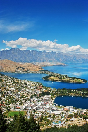 Queenstown and the Remarkables, New Zealand photo
