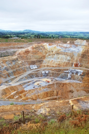 carbon pollution: Gold mine