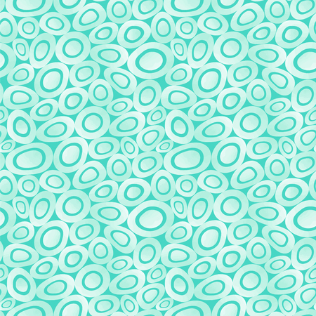 Abstract background. Seamless vector pattern with ovals.