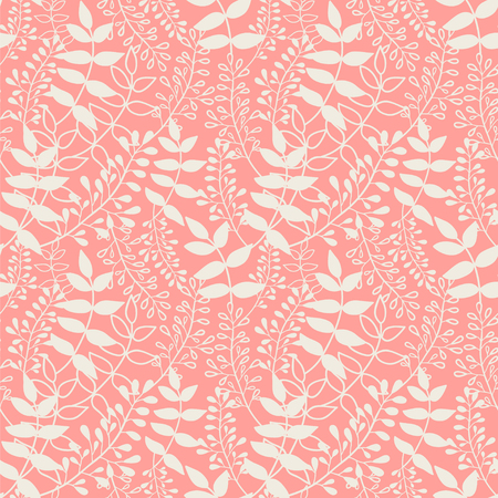 Seamless vector pattern with herbs.