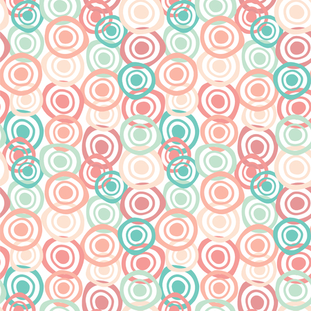 Seamless vector pattern in pastel colors.