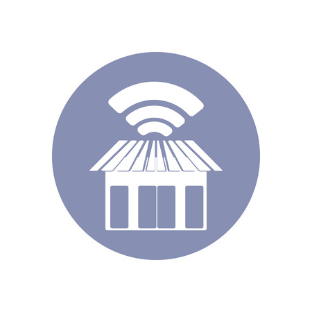 emarketing: WiFi network connection symbol sign icon pictogram for presentation in vector, BYOD connectivity concept, WiFi service at shop or restaurant
