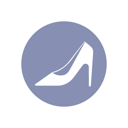 high heels shoes: Beauty high heels shoes fashion pictogram icon set, collection for design presentation in vector