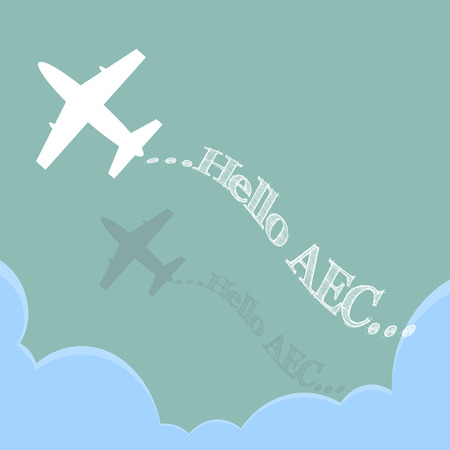 Hello AEC by Plane over the cloud