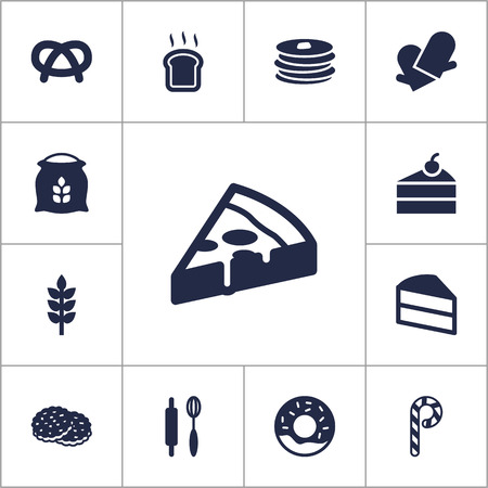 bretzel: Set Of 13  Icons Set