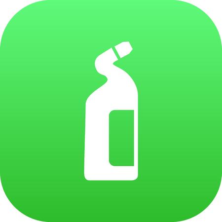 Geïsoleerde Cleaners Pictogram Symbool Op Schone Achtergrond. Vector Detergent Element In Trendy Stijl.