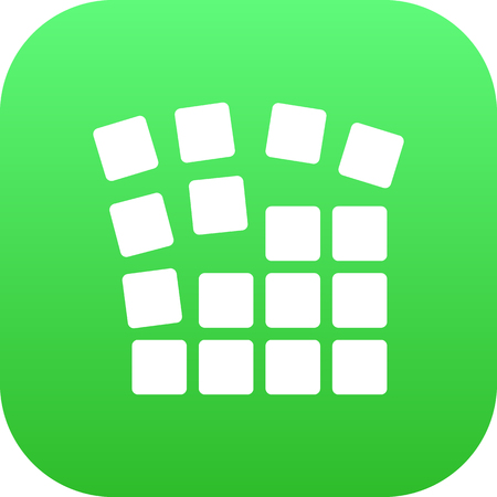 grid background: Isolated Grid Structure Icon Symbol On Clean Background