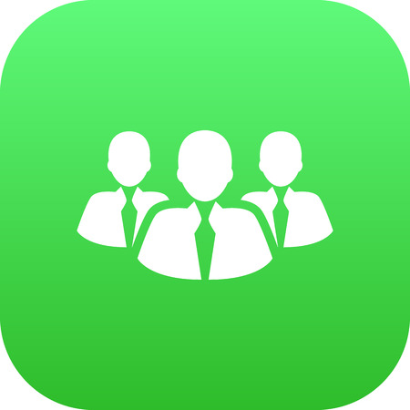 Isolated Team Icon Symbol On Clean Background. Vector Colleagues  Element In Trendy Style.