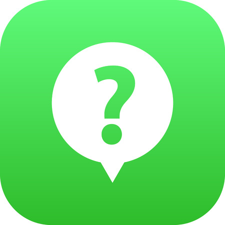 Vector Help  Element In Trendy Style.  Isolated Faq Icon Symbol On Clean Background.