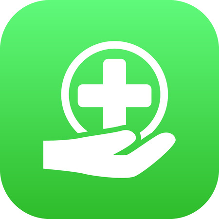 Isolated Medical Icon Symbol On Clean Background. Vector First-Aid   Element In Trendy Style. Illustration