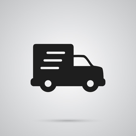 Isolated Delivery Icon Symbol On Clean Background. Vector Shipping Element In Trendy Style.