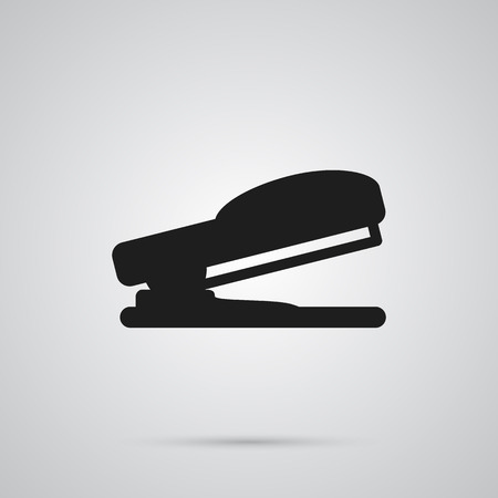 office stapler: Isolated Stapler Icon Symbol On Clean Background. Vector Puncher Element In Trendy Style.