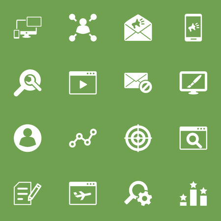 Set Of 16 Engine Icons Set.Collection Of Guest, Responsive, Search And Other Elements.
