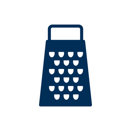 Isolated Grater Icon Symbol On Clean Background. Vector Slicer Element In Trendy Style.