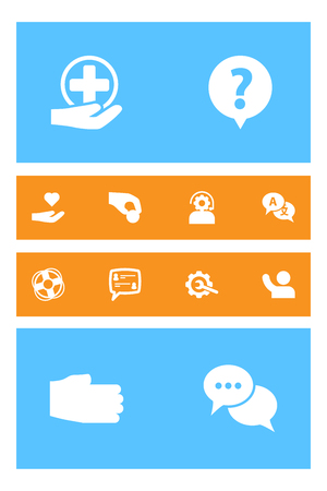 Set Of 12 Maintenance Icons Set.Collection Of Support, Translate, Undertake And Other Elements.