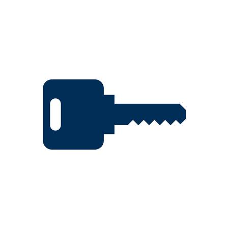 Isolated key icon symbol.