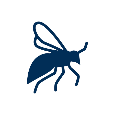 Isolated Wisp Icon Symbol On Clean Background. Vector Fly Element In Trendy Style.