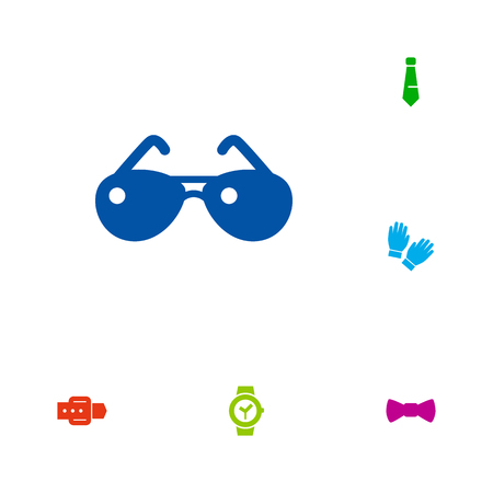 Set Of 6 Accessories Icons.