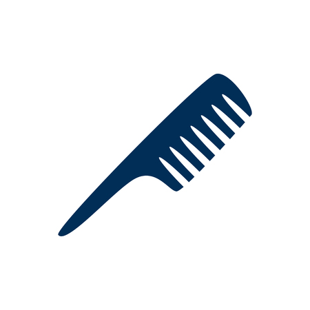 Isolated comb icon symbol on clean background. Vector hairbrush element in trendy style.