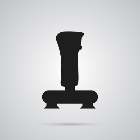 Isolated joystick icon symbol on clean background. Vector joypad element in trendy style. Illustration