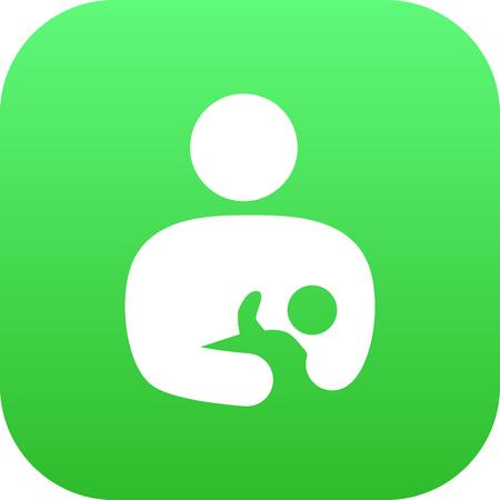 Isolated care icon symbol Ilustração
