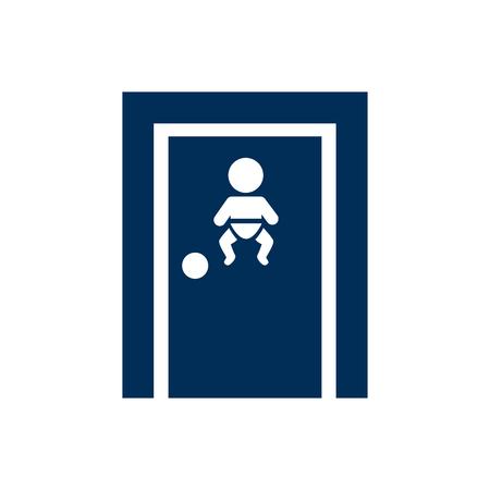Isolated feeding icon symbol