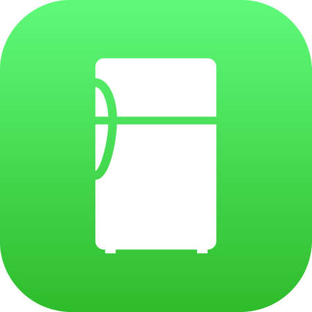 Isolated fridge icon symbol on clean background. refrigerator element in trendy style. 版權商用圖片