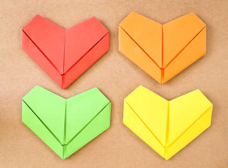 paper heart collection photo
