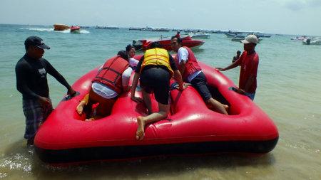 Donat Boat at Tanjung Benoa