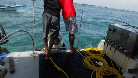 Sea Walker at Tanjung Benoa Bali photo